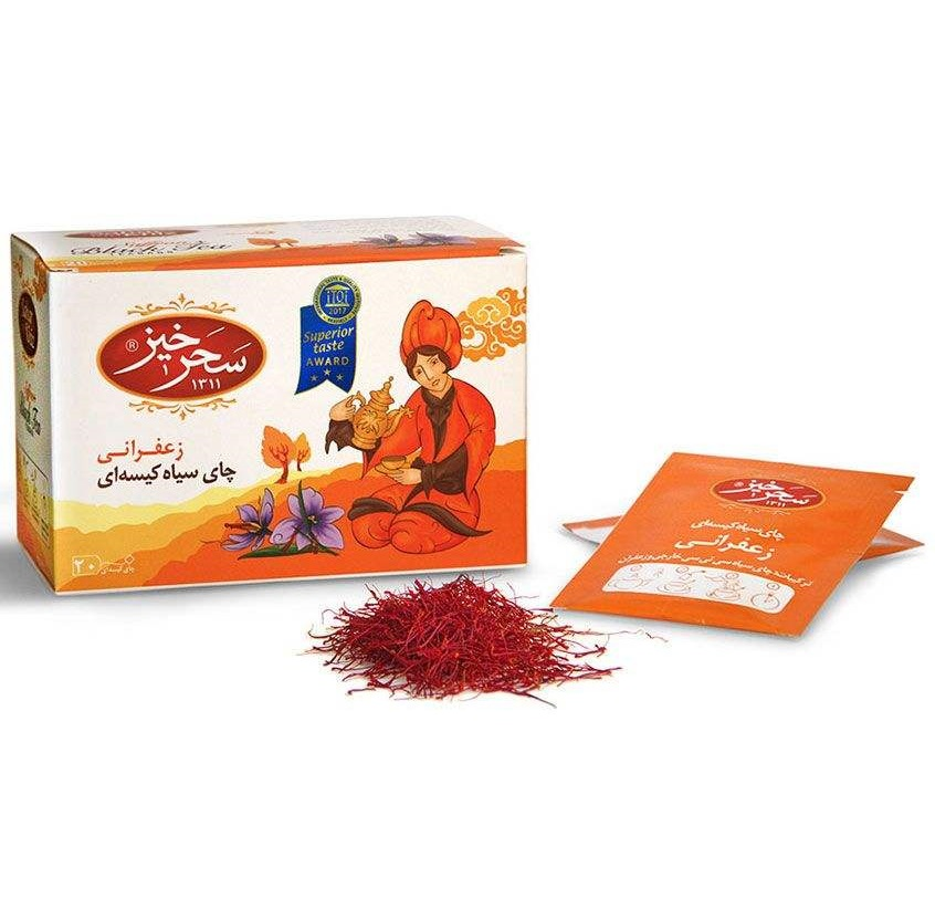 Saffron Black tea-2